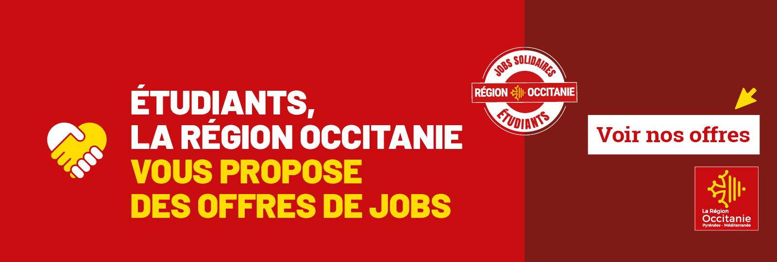 La Région se mobilise pour les jobs étudiants