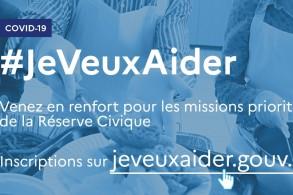 Appel à bénévoles majeurs et de moins de 70 ans : #jeveuxaider