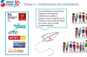 Appel aux volontaires d'Occitanie : un geste de soutien aux personnes fragilisées par la crise