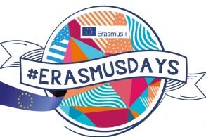 #ErasmusDays du 14 au 16 octobre