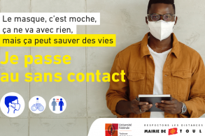 Étudiants : passez au sans contact