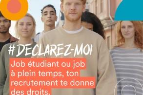 Jobs étudiants, jobs d'été, premier emploi : Déclarez-Moi !