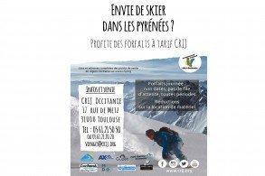 Le bon plan forfaits de ski à tarif réduit, c'est reparti au CRIJ