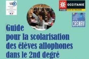 Le guide pour la scolarisation des élèves allophones dans le 2nd degré