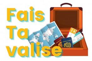 Nouveau ! Fais ta valise : PODCAST de jeunes qui témoignent sur leurs expériences à l'étranger